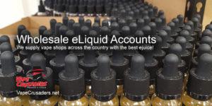 Wholesale eliquid, ejuice, vape juice and e-liquid for vape shops
