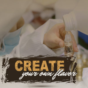 Create a custom ejuice flavor