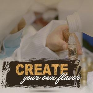 Create a custom ejuice flavor