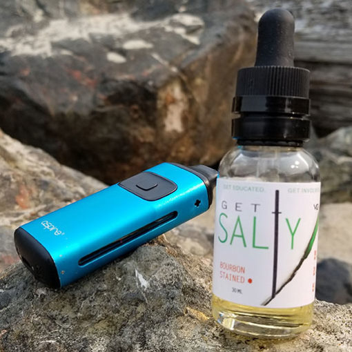 Get Salty Nic Salt Based Eliquid - Bourbon Stained