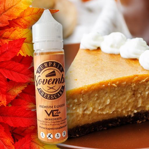 November Pumpkin Spice e-liquid by Vape Crusaders