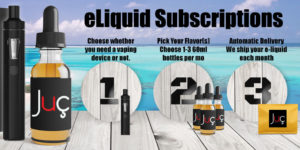 e-liquid subscription - how it works