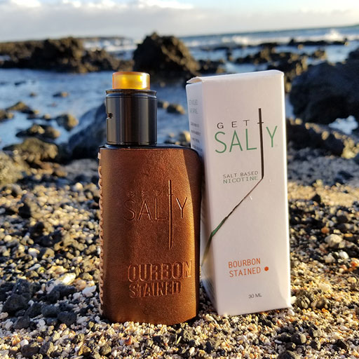 Nicotine Salt eliquid - Bourbon Stained