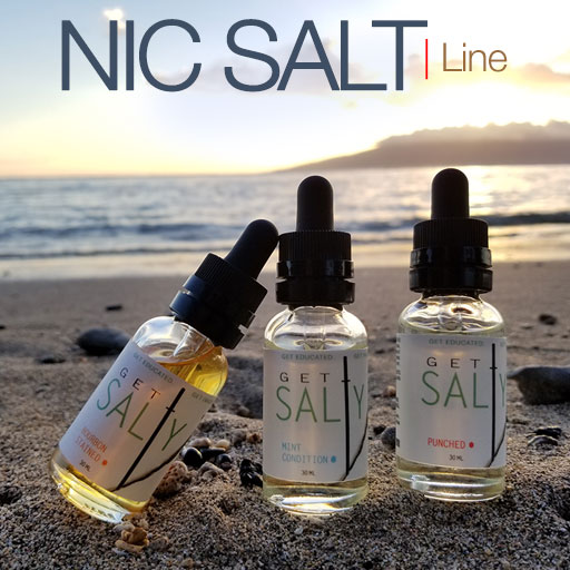 Get Salty - Salt Based Nicotine eliquid