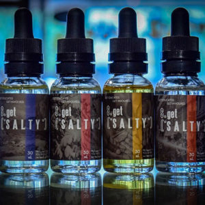Nic salt flavors by Get Salty